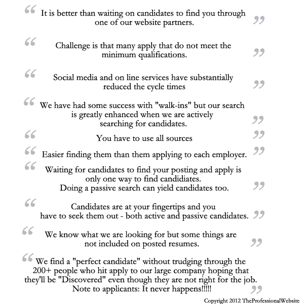 Quotes About Searching For Candidates
