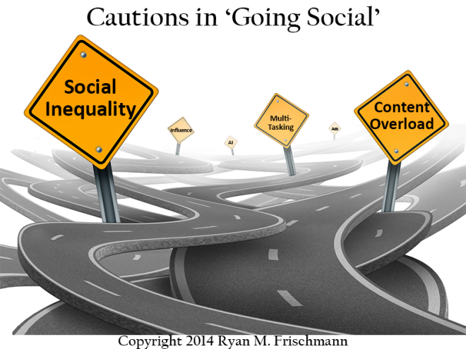 Cautions in 'Going Social'